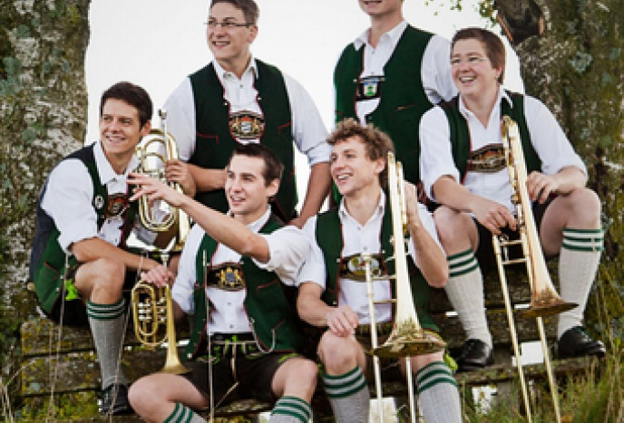 Feier Muenchen Tromposaund - Bayerische Band