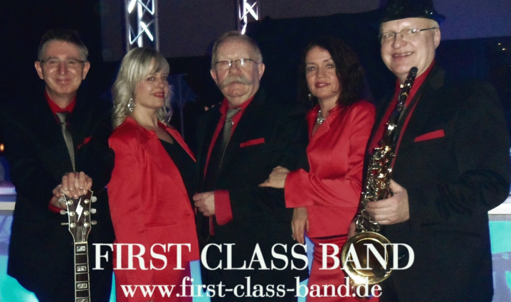FIRST CLASS PARTYBAND Top Partymusik Live picture