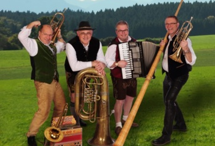 Firmenfeier Nuernberg Hühnerbach Musi • Die zünftige Musik aus dem Allgäu!