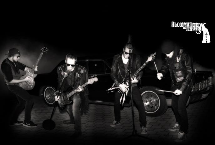 Firmenfeier Augsburg Bloody Marry - Hard Rock Livemusik