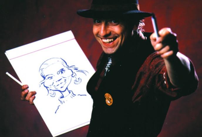 Firmenfeier Regensburg Art & Entertainment: Porträtkarikaturen der Extraklasse