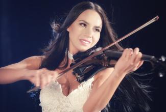 Katja Sunrise -  Willkommen im Geigenhimmel