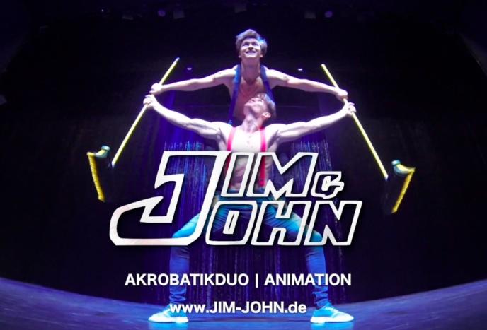 Firmenfeier Bremen Jim&John - Akrobatikduo Brüder