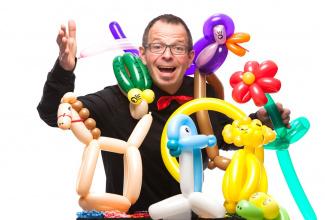 Ballonkünstler Sascha