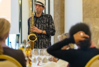 Live Saxophonist für Hochzeiten, Geburtstage, Brunch, Lunch, Dinner, Sektempfang