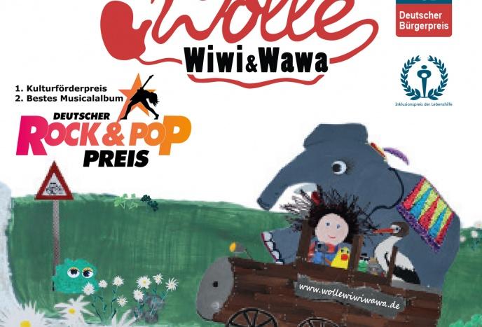 Firmenfeier Augsburg Wolle Wiwi Wawa Kindermusical