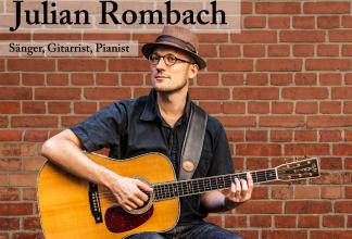 Julian Rombach - Sänger, Gitarrist, Pianist, Hochzeit, Beatles, Akkustik