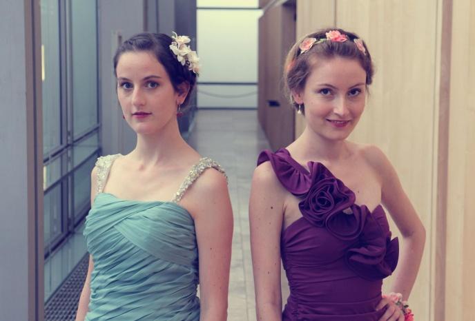 Geburtstagsfeier Muenchen Duo Blumenmädchen