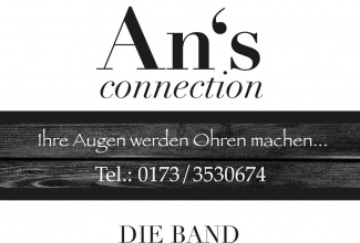 An`s Connection: Die Einzigartige Coverband!  Von Amanda Marshall bis ZZ Top!