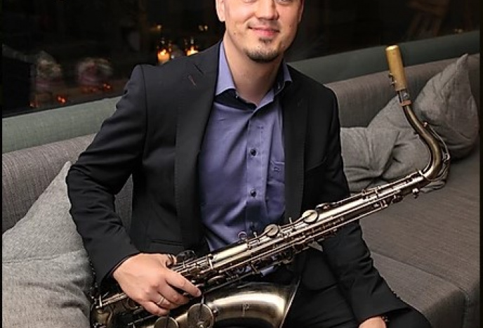 Hochzeitsband Landshut Vladi Strecker - Bar Jazz & Chill Out Saxophonist