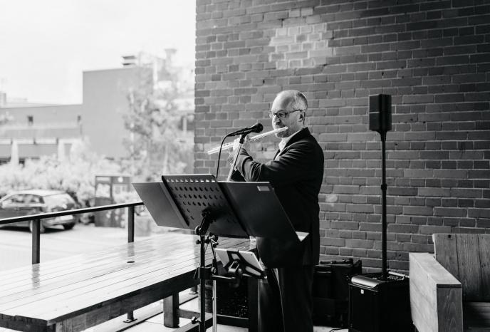 Firmenfeier Köln Sax & Flute | Peter M. Macherey