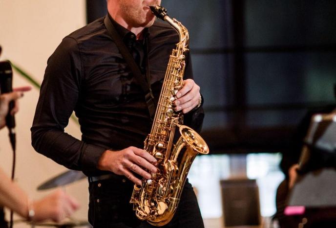 Geburtstagsfeier Koeln Peter M. Macherey   Saxophon & Querflöte