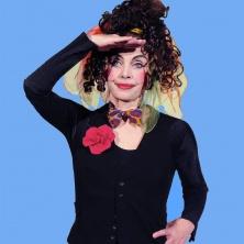 Unterhaltungskünstler Ingrid Irrlicht Theater ohne Worte für Kinder