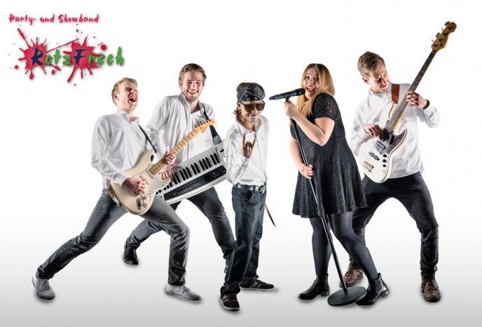 Geburtstagsfeier Muenchen RotzFrech Party- und Showband