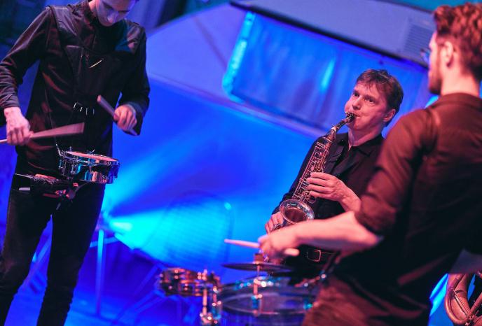 Hochzeitsband München Percussion Show München