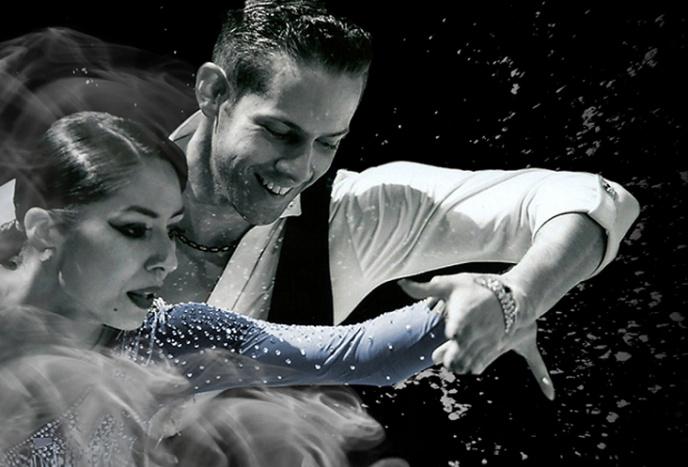 Unterhaltungskünstler München Professional Showdance Latein und Standard - Chaska und Marc